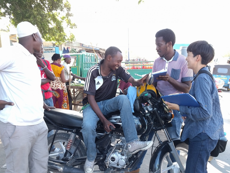 バイクタクシー市場調査_タンザニア