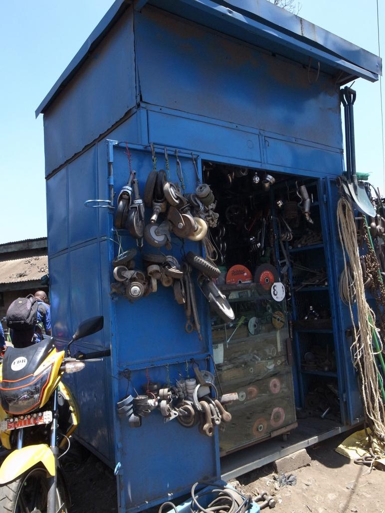 A Kenyan Mechanic's Garage