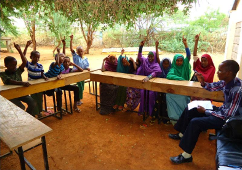 Refugee Camp School Interview